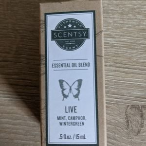 Scentsy Live Essential Oil Blend